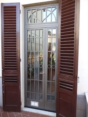 Cancelli recinzioni inferriate fisse o apribili in ferro - Sicurezza porta finestra ...