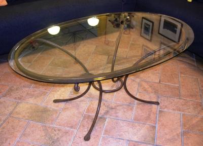 Letti tavoli plafoniere mensole bastoni tende in ferro for Tavolini in ferro battuto per esterni